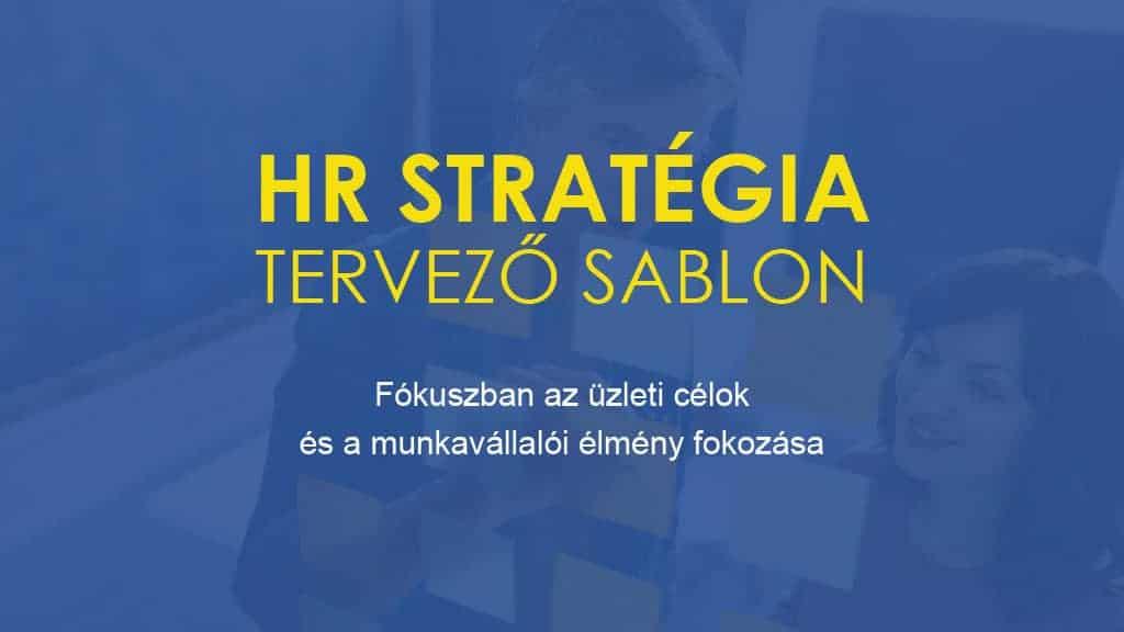 HR Stratégia  Tervező Sablon