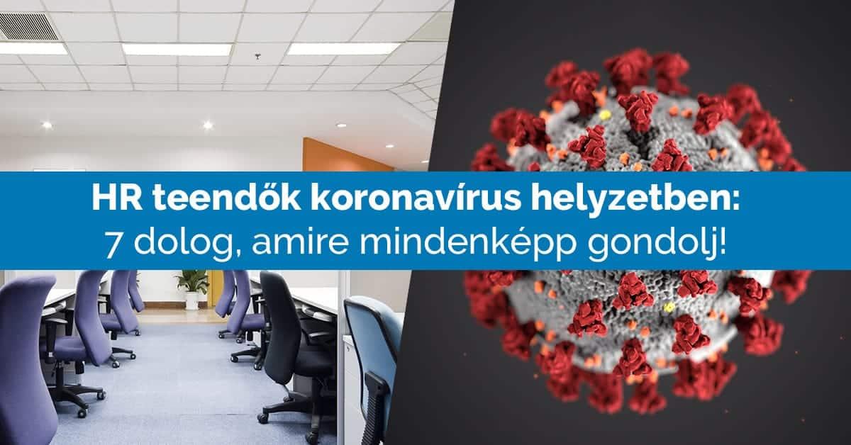 Koronavírus az irodában